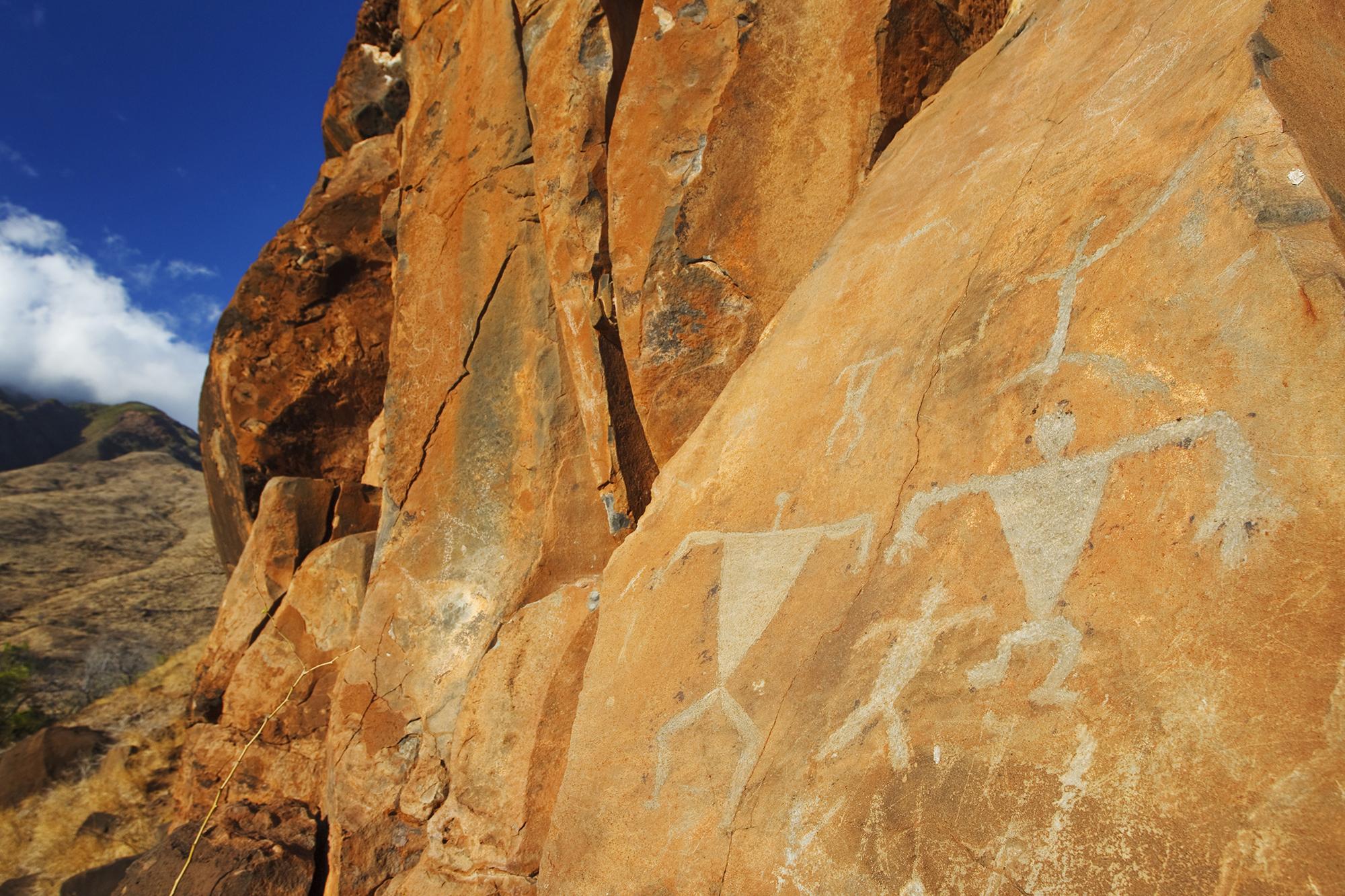 Puamana Nani Olowalu Petroglyphs